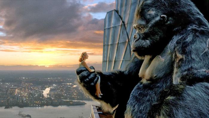 """16 – """"King Kong"""" (2005) - $250.3 میلیون تخمین بودجه اولیه: $207 میلیون فروش جهانی: $550.5 میلیون"""