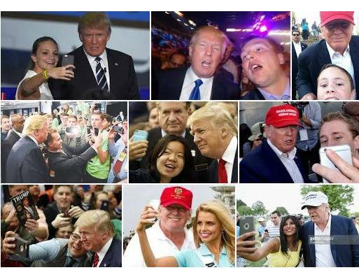 نگاهی به سلفی های دونالد ترامپ جنجالی