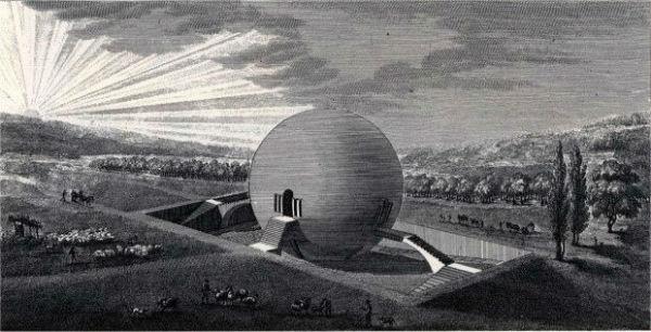 21.خانههای حلزونی / خالق این طرح، هنرمندی فرانسوی به نام «کلود نیکلاس لودو» بوده. نکته جالب در مورد این ایده این است که این معمار آینده انسان را در فضائی روستایی متصور شده نه شهری.