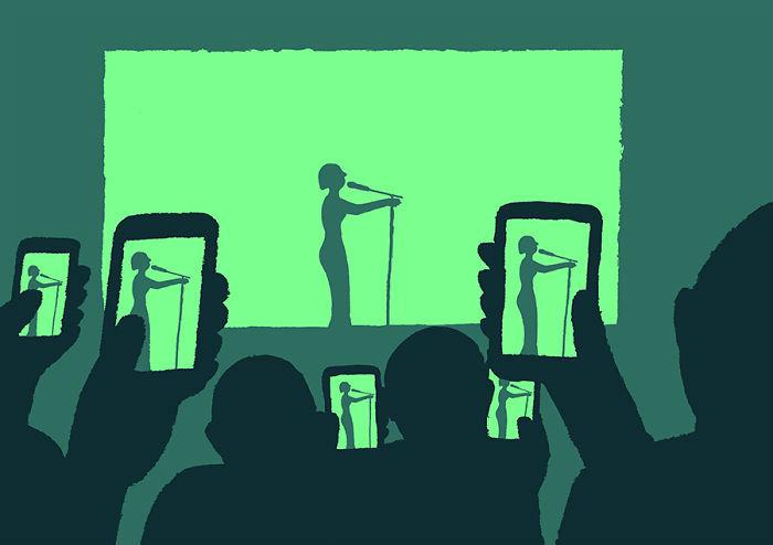 اجراهای زندهی موسیقی و تئاتر