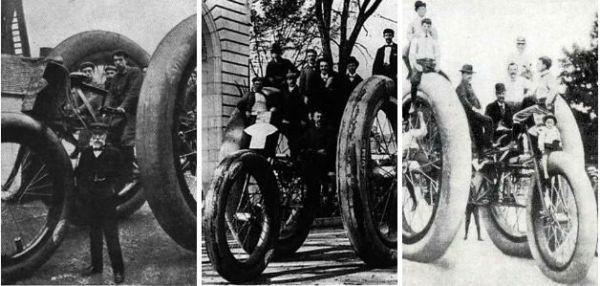گردش و تفریح با سهچرخههای غولپیکر