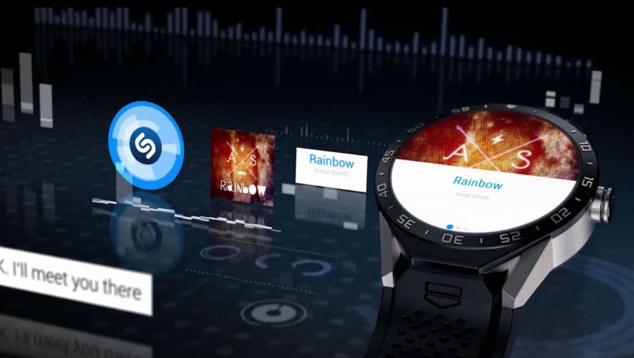Shazam نام آهنگ و خواننده را نیز نمایش میدهد.