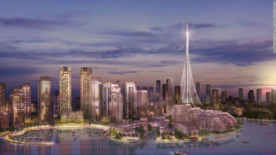 The Tower مکان: دبی – امارات ارتفاع: 928 متر آرشیتکت: سانتیاگو کالاتراوا سال اتمام ساخت: 2020 میلادی