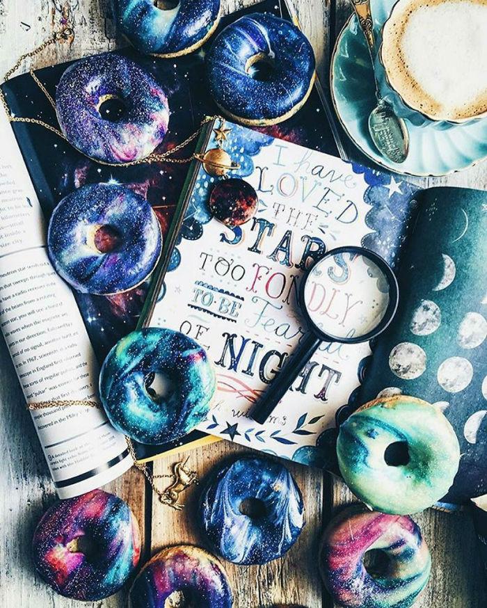 شیرینیهای کهکشانی؛ دوناتهای فضائی