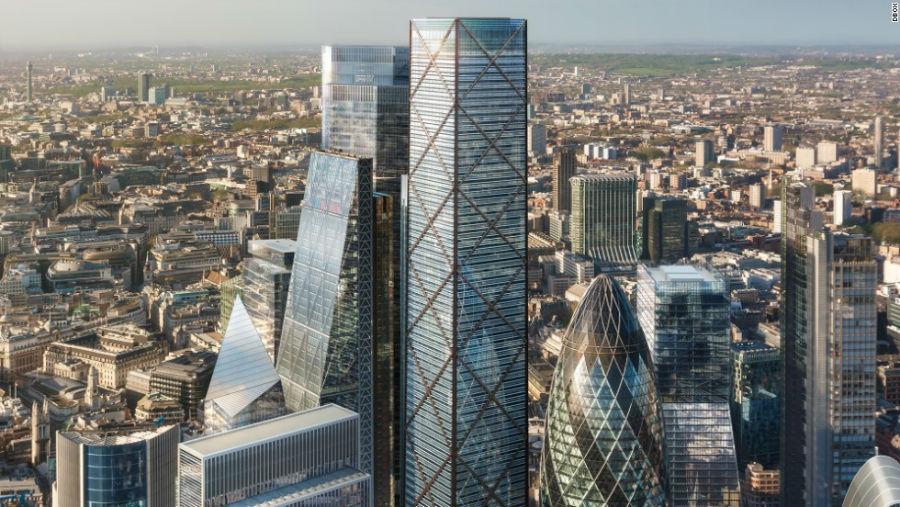 1 Undershaft مکان: لندن - انگلستان ارتفاع: 300 متر تعداد طبقات: 73 آرشیتکت: Aroland Holdings