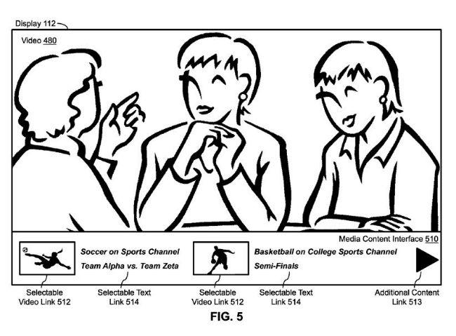 تغییر کانال یا جستوجو در تلویزیون با استفاده از دستور صوتی شماره پتنت: 9338493 مخترعین: Marcel Van Os, Harry J. Saddler, Lia T. Napolitano, Jonathan H. Russell, Patrick M. Lister, and Rohit Dasari سال فایل شدن ایده در اداره ثبت پتنت جهانی: 26 سپتامبر 2014