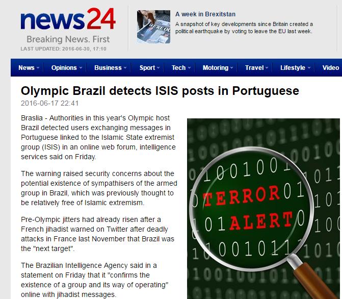 المپیک ریو داعش