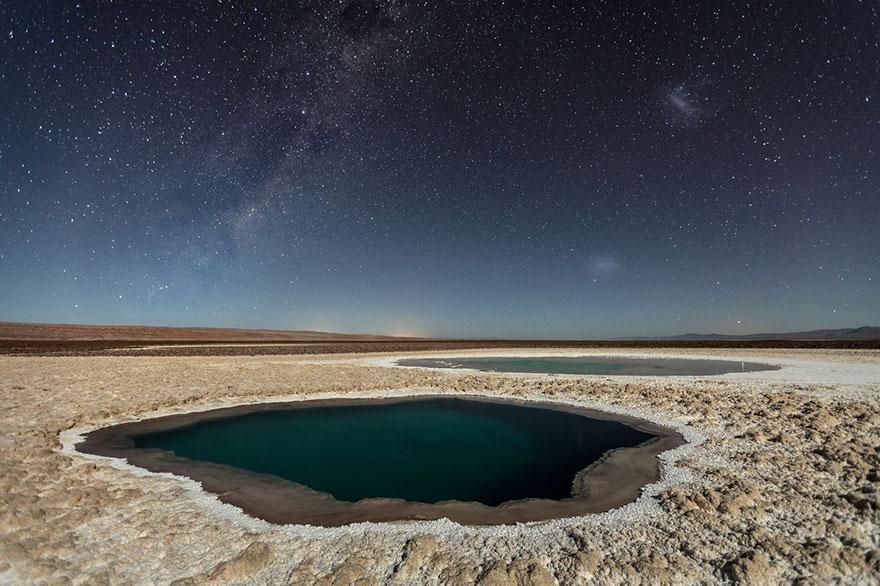 Lagunas Baltinache - شیلی موضوع: طبیعت عکاس: Victor Lima