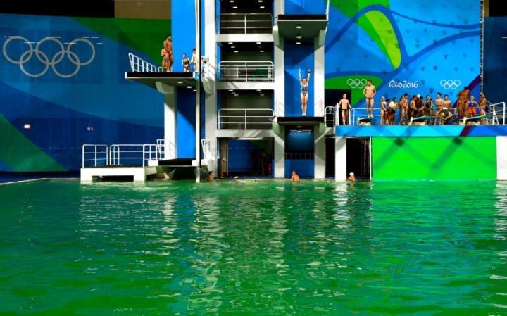 استخر سبزالمپیک ریو