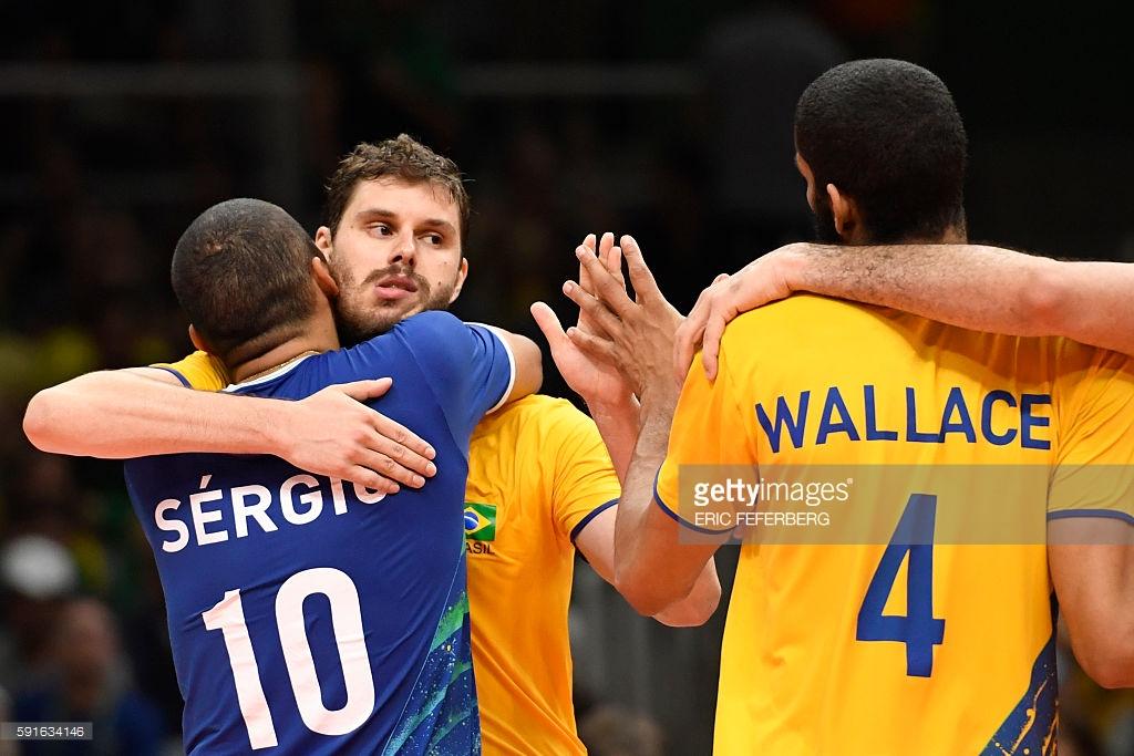 والیبال برزیل روسیه
