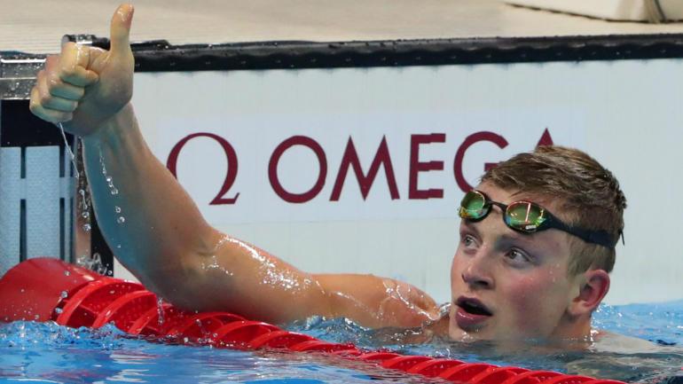 آدام پیتی شناگر انگلیس