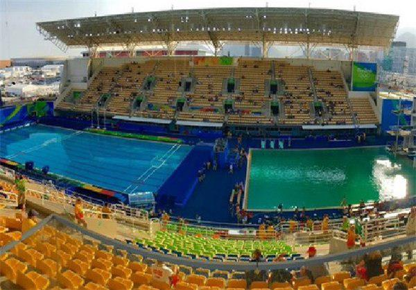 استخر سبز المپیک ریو