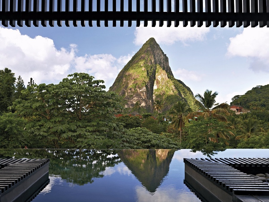 the-black-quartz-infinity-pool-at-hotel-chocolat-on-the-island-of-st-lucia-provides-guests-with-quite-the-view-thanks-to-its-location-across-from-petit-piton-a-volcanic-mountain