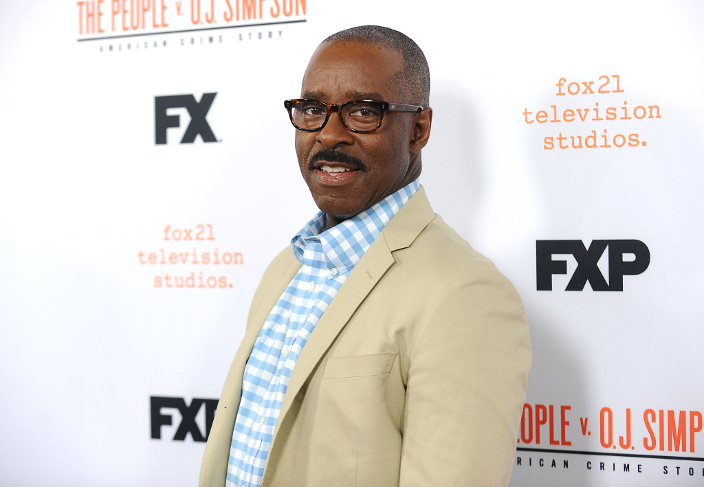 """LOS ANGELES, CALIFORNIA - APRIL 04: Actor Courtney B. Vance attends the For Your Consideration event for FX's """"The People v. O.J. Simpson - American Crime Story"""" at The Theatre at Ace Hotel on April 4, 2016 in Los Angeles, California. (Photo by Jason LaVeris/FilmMagic)"""