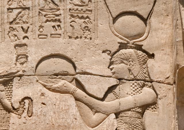 Dendera Cleopatra, Roman Temple