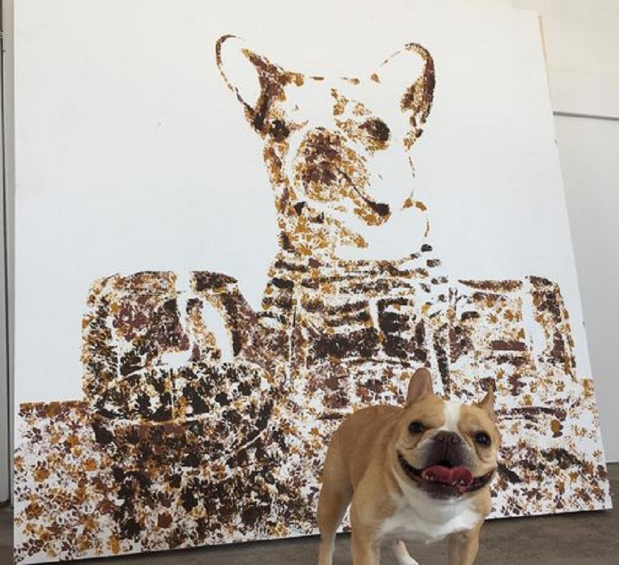 وقتی سگ ها نقاش می شوند [تماشا کنید]
