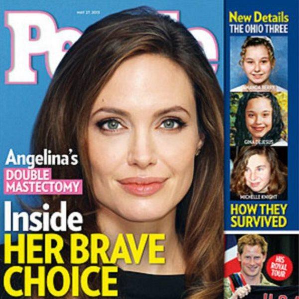 آنجلینا جولی برای رهایی از خطر سرطان دست به عمل جراحی زد.