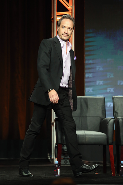 BEVERLY HILLS, CA - AUGUST 09: Writer D.V. DeVincentis speaks onstage at 'The People v. O.J. Simpson: American Crime Story' panel discussion during the FX portion of the 2016 Television Critics Association Summer Tour at The Beverly Hilton Hotel on August 9, 2016 in Beverly Hills, California. (Photo by Frederick M. Brown/Getty Images)
