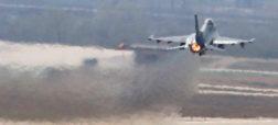 نجات یافتن یک جت جنگنده از سقوط حتمی با کمک سامانه خودکار [تماشا کنید]