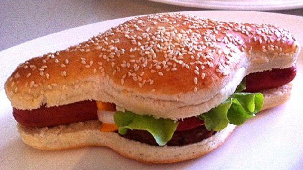 با «هَمداگ» آشنا شوید؛ ساندویچ دوگانه همبرگر و هات داگ [تماشا کنید]