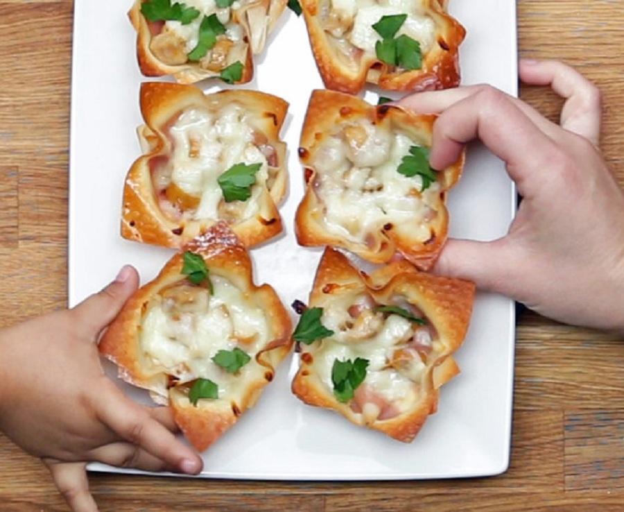 خوشمزه روز: لقمه های پنیری کدو و سوسیس [تماشا کنید]