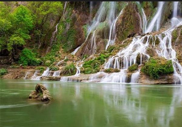 لرستان، عروس آبشار های ایران