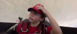 ویدیویی جالب از بیهوش شدن پسر بچه ای هنگام پرواز با هواپیما [تماشا کنید]