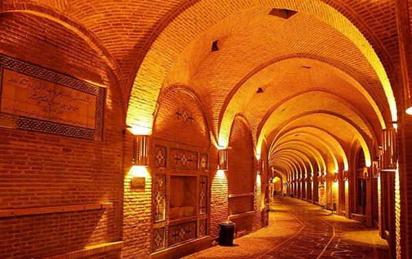 گشتی در بازار زیبا و تاریخی هزار ساله قزوین