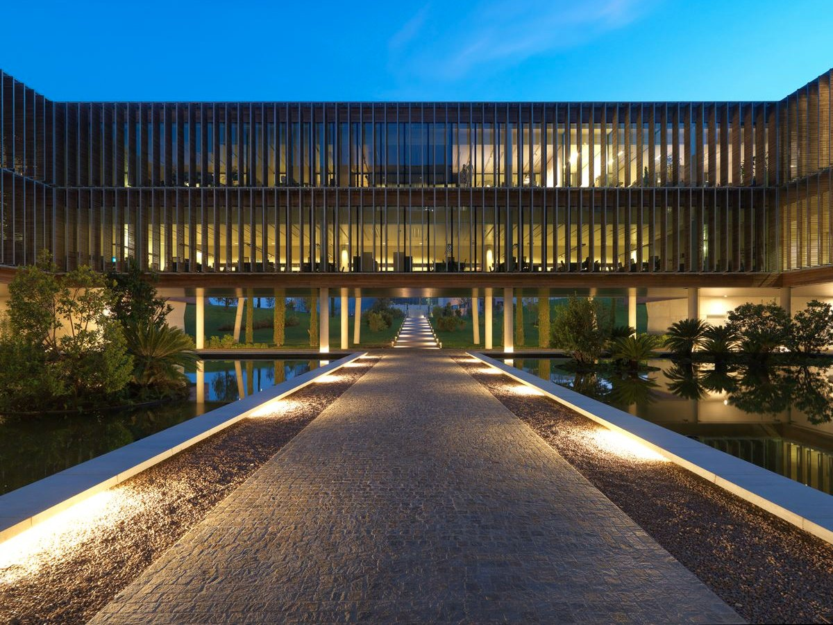 rosso-built-a-glittering-new-headquarters-in-breganze-italy-in-the-countryside-north-of-venice-the-otb-group-building-is-enormous-with-a-cafeteria-and-full-gym-for-employees