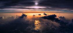 عکس هایی زیبا از طوفان ها که در ارتفاع ۳۰ هزار پایی گرفته شده اند