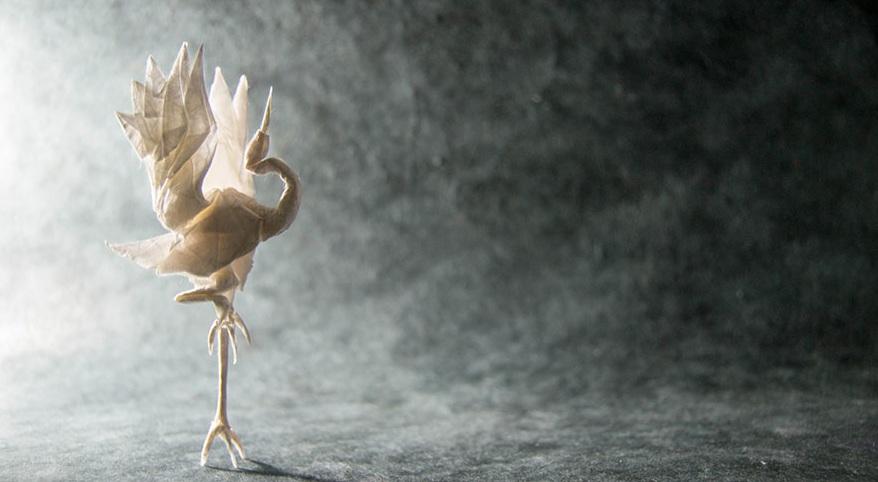 خلق مجسمه های خارق العاده حیوانات با استفاده از کاغذ