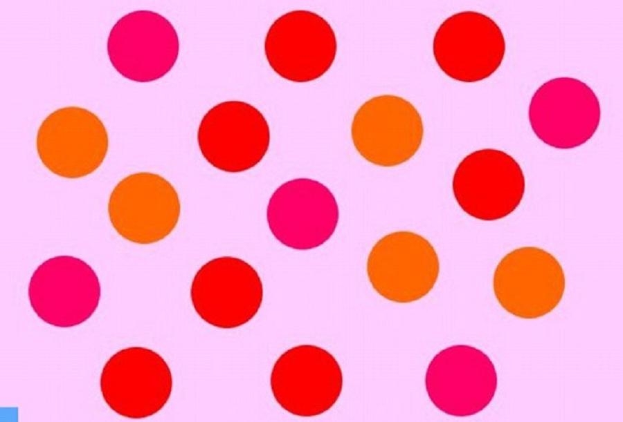 تست بینائی: آیا می توانید نقطه های قرمز را تشخیص دهید؟