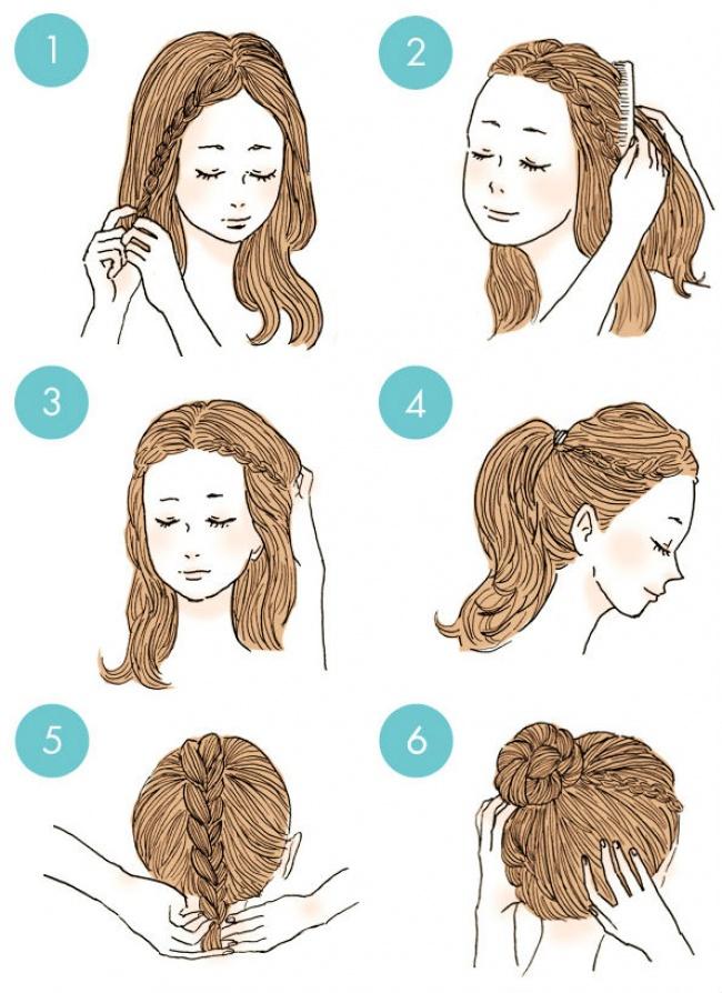 شینیون جلوی سر 20 مدل موی آسان که همه می توانند درست کنند - روزیاتو