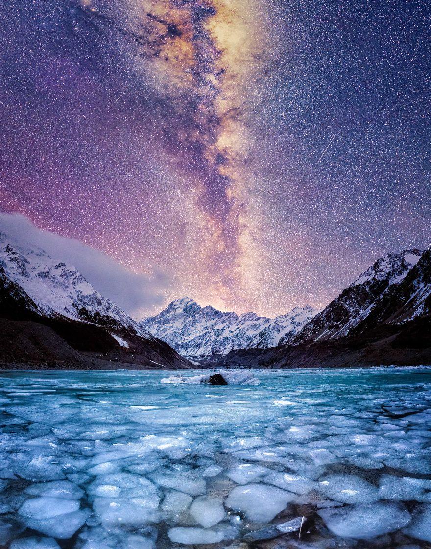 کوهستان کوک - بلندترین کوه نیوزیلند