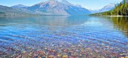 زیبایی های طبیعت؛ سنگ های رنگارنگ دریاچه مک دونالد