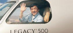 نگاهی به بیرون و درون جت شخصی ۲۰ میلیون دلاری «جکی چان»