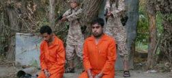 جنایت دیگری از داعش؛ استفاده از دو کودک برای اعدام زندانیان جاسوس