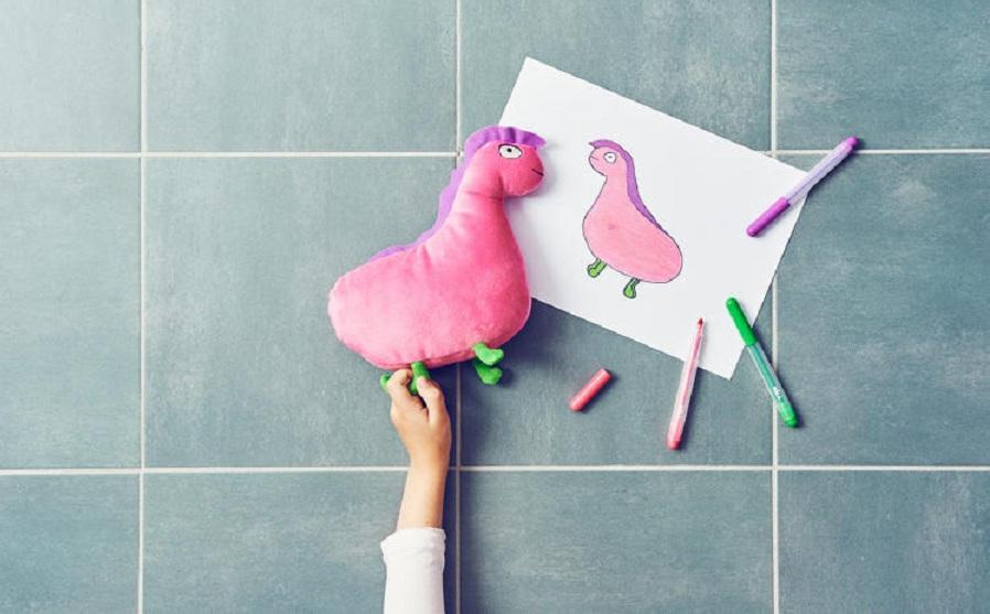 «ایکیا» از کودکان برای طراحی عروسک های جدید خود کمک گرفته