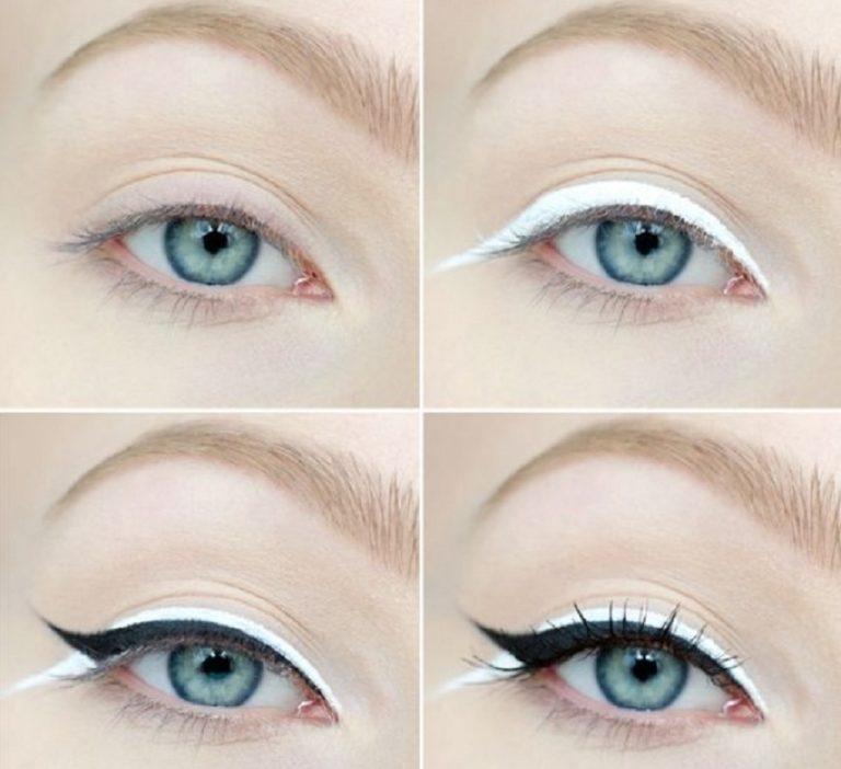 آموزش تصویری ۱۱ روش مختلف کشیدن خط چشم