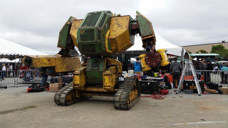 چگونه یک ربات جنگنده را نابود کنیم؟ [تماشا کنید]