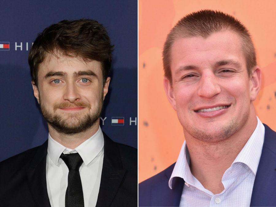 هنرپیشه دنیل ردکلیفه و راب گرانکوسکی در سن 27 سالگی