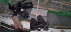 فیلمبردار دیوانه ای که با دوربین پارکور می کند [تماشا کنید]