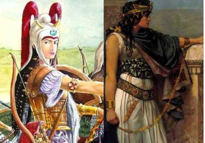 با بانوان جنگجوی ایران باستان آشنا شوید