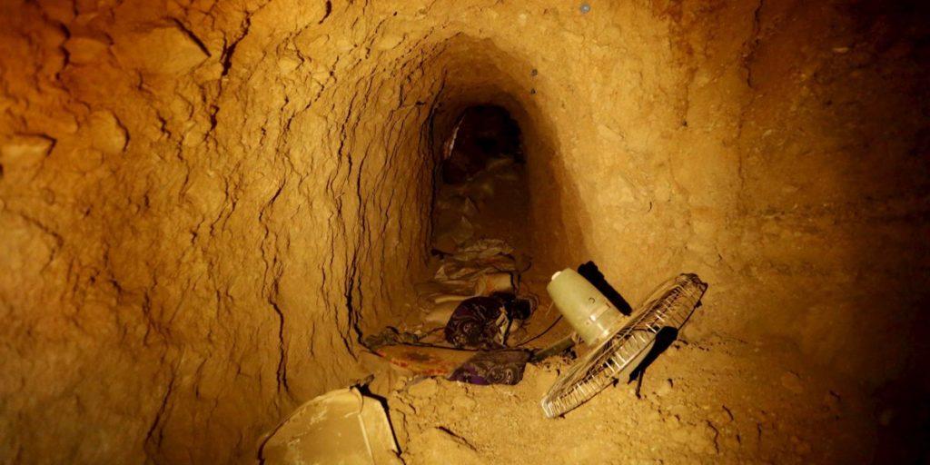 نگاهی به تونل های زیر زمینی که داعش در نبرد موصل از آنها بهره می گیرد  [تماشا کنید]