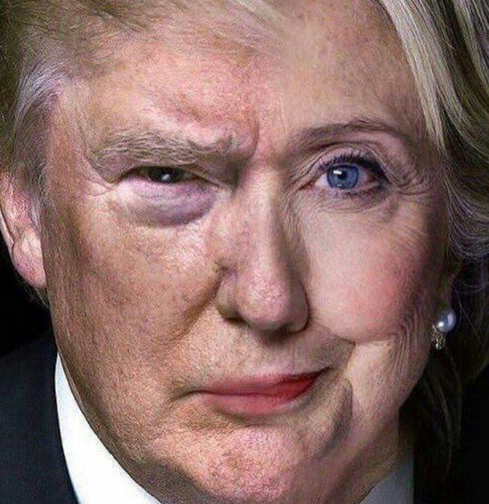 دوئل کلینتون و ترامپ در دومین مناظره انتخاباتی