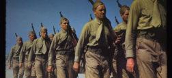 تصاویر رنگی شده و خیره کننده ای که جنگ جهانی دوم را از زاویه ای متفاوت به تصویر می کشند