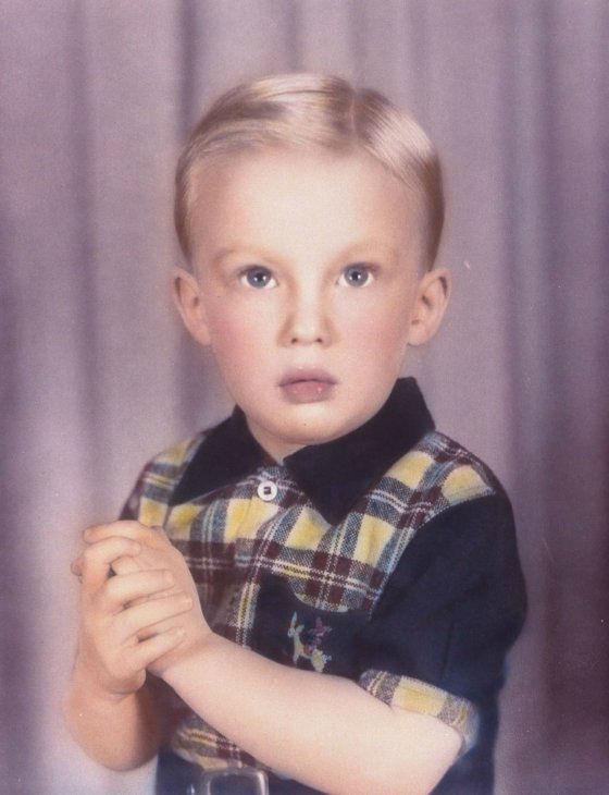 دونالد ترامپ در 4 سالگی