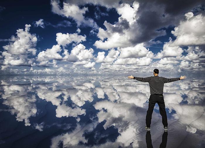 راه رفتن روی ابرها
