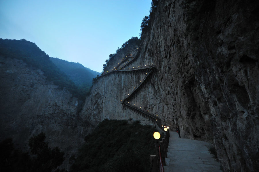 Mianshan, Shanxi province.