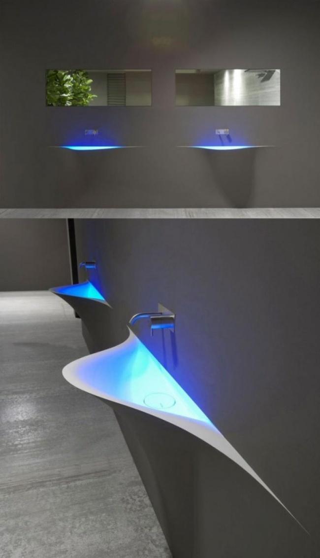 سینک روشوئی های تک LED